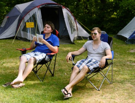 Die HHS-Camper on Tour