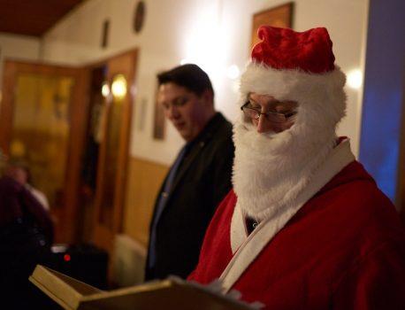 Weihnachtsfeier 2015 im Wiesengrund